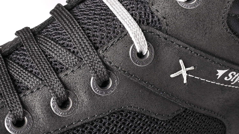 EU-40 US-7.5 Stylmartin Adult Atom Urban Line Sneakers Black Size