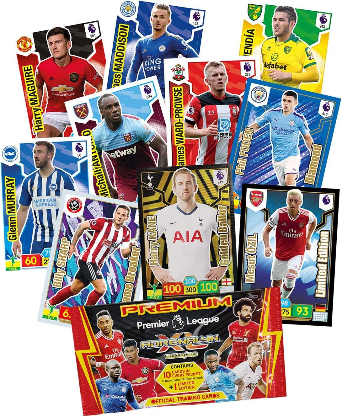 Panini Premier League ADRENALYN XL 2019//20 Tarjetas Base 1-90 compre 2 lleve 10 Gratis