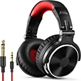 OneOdio Over Ear Headphone, Wired Bass Headsets with 50mm Driver, Foldable Lightweight Headphones with Shareport and Mic for