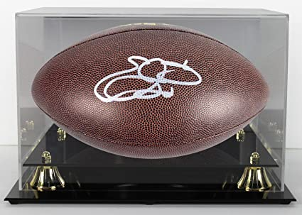 58b95d8f2 Emmitt Smith Signed Football - w Case - PSA DNA Certified - Autographed  Footballs