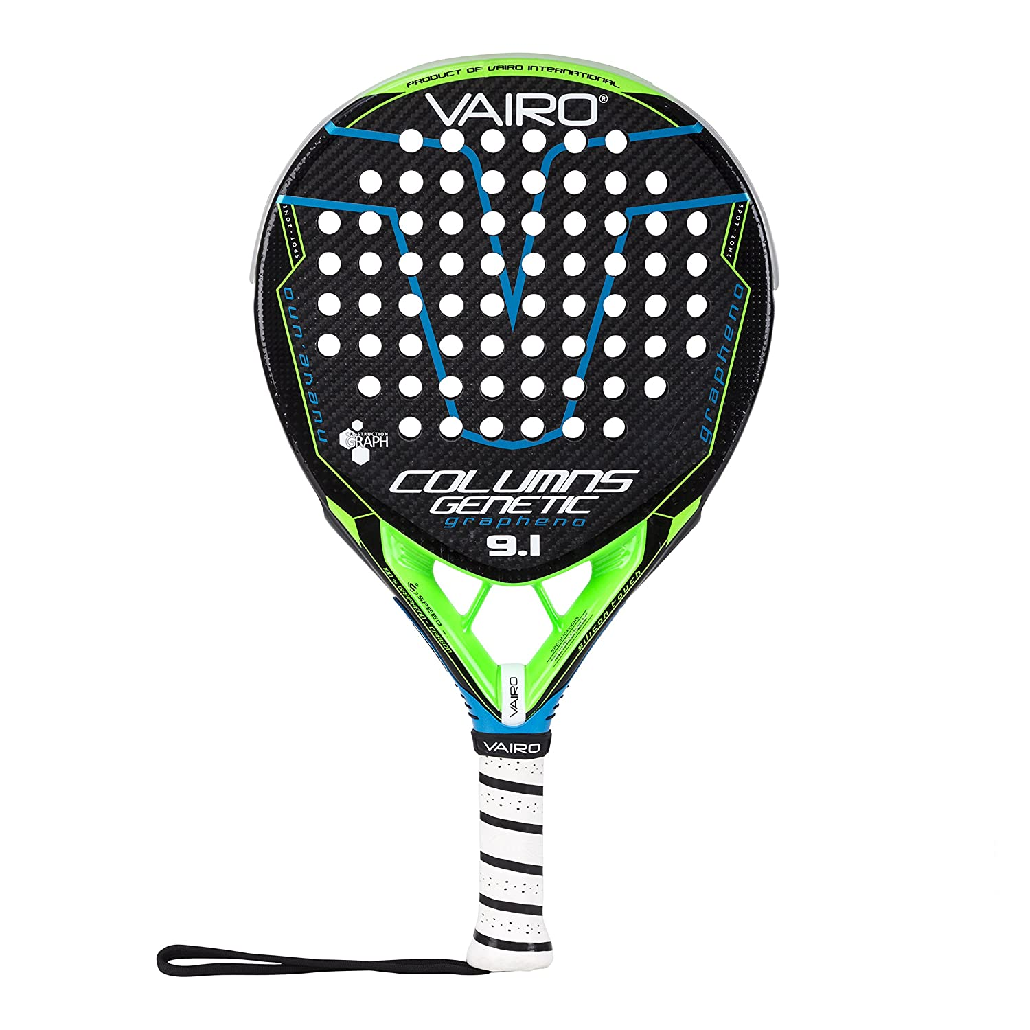 VAIRO Pala de Padel Columns Genetic 9.1: Amazon.es: Deportes y ...