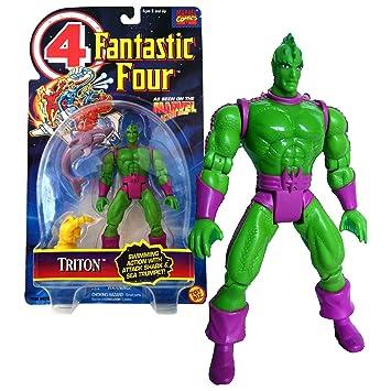 Amazon.com: Toybiz Año 1995 Marvel Comics Fantastic cuatro ...