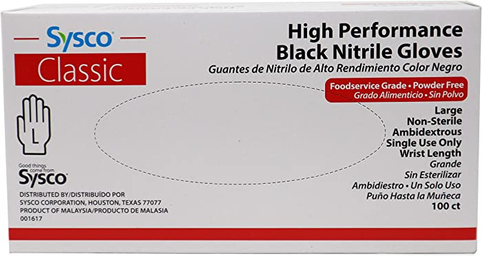 The Best Food Safe Black Nitrile