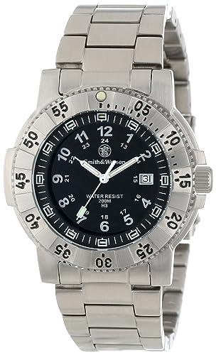 Smith & Wesson SWW-357-SS - Reloj (Reloj de pulsera, Masculino