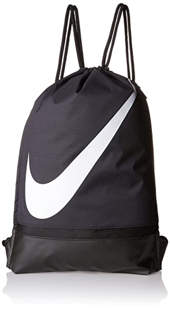 c34e926eae Image Unavailable. Image not available for. Colour  Nike Drawstring Gym Bag  (Black)