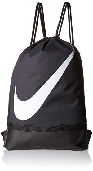 3a4d9576f5 Amazon.com  Nike Swoosh Drawstring Sackpack (One Size)  Sports ...
