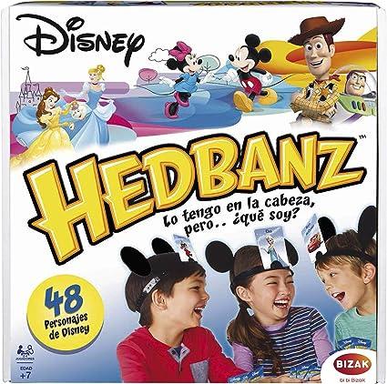 Juegos Bizak Headbanz Disney (BIZAK 61924161): Amazon.es: Juguetes y juegos