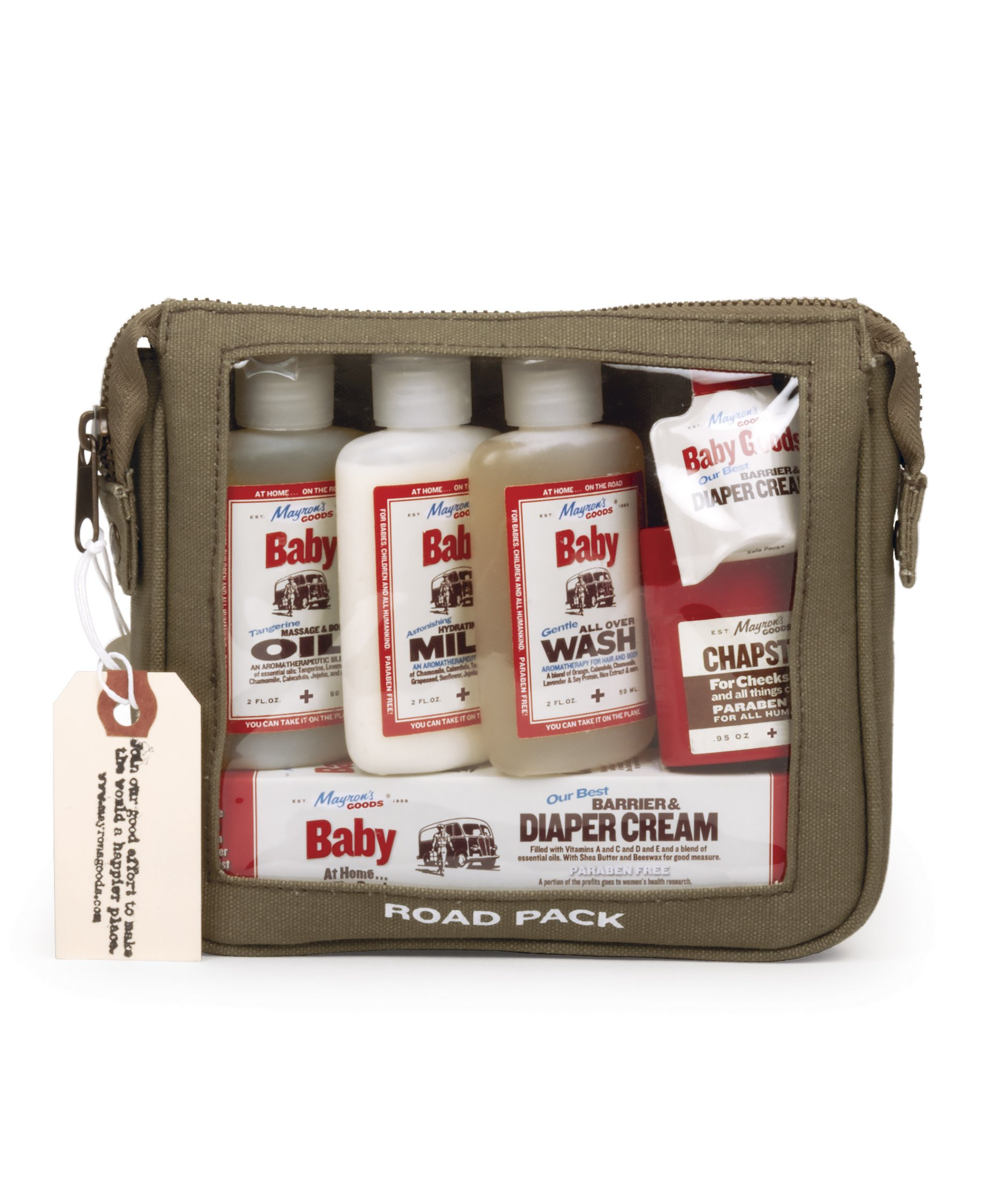 Mayron's Goods Roadpack: Travel Size Baby Goods Natural Skin Care