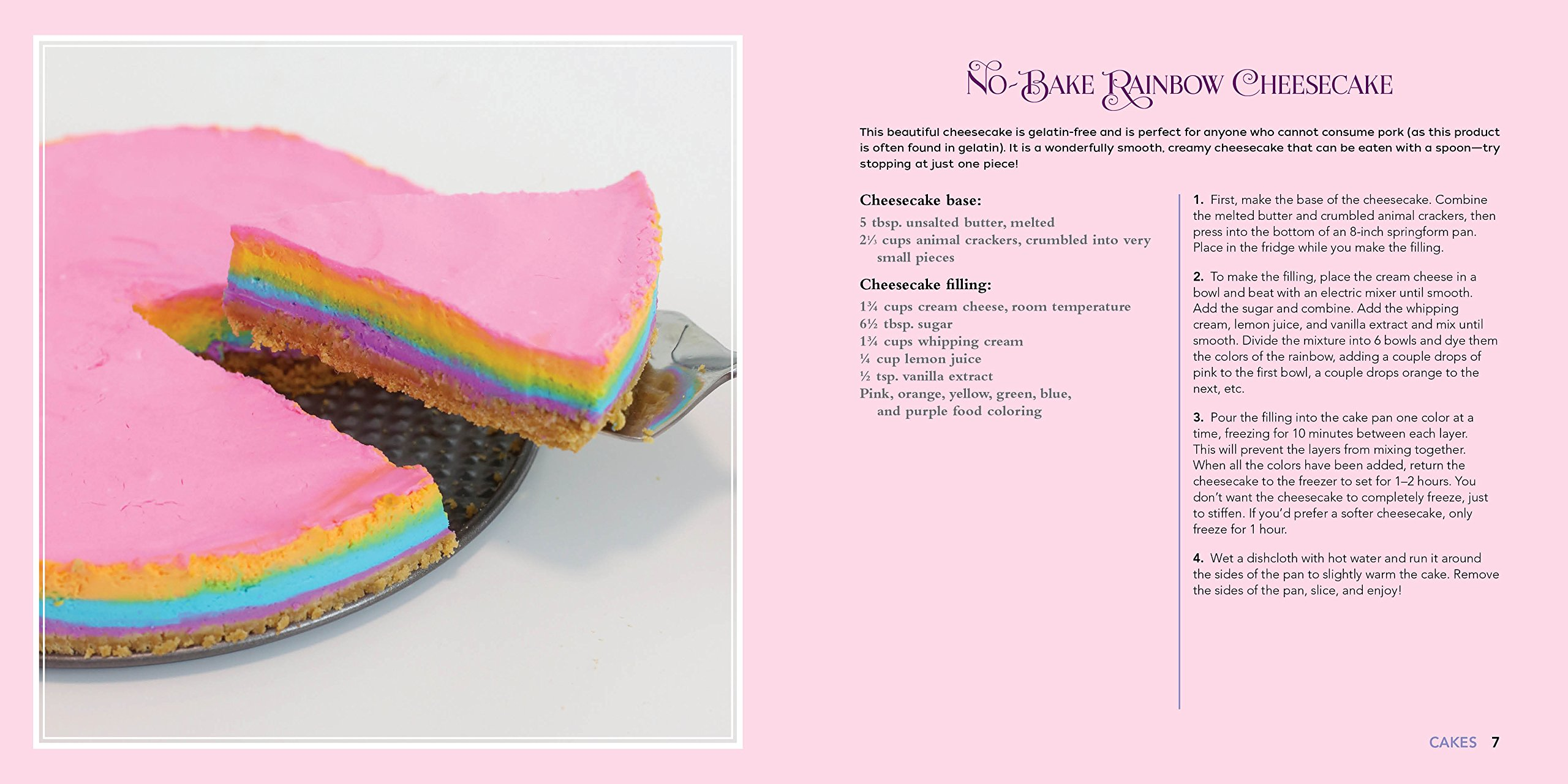 Unicorn Food: Rainbow Treats and Colorful Creations to Enjoy and Admire (Whimsical Treats) 4