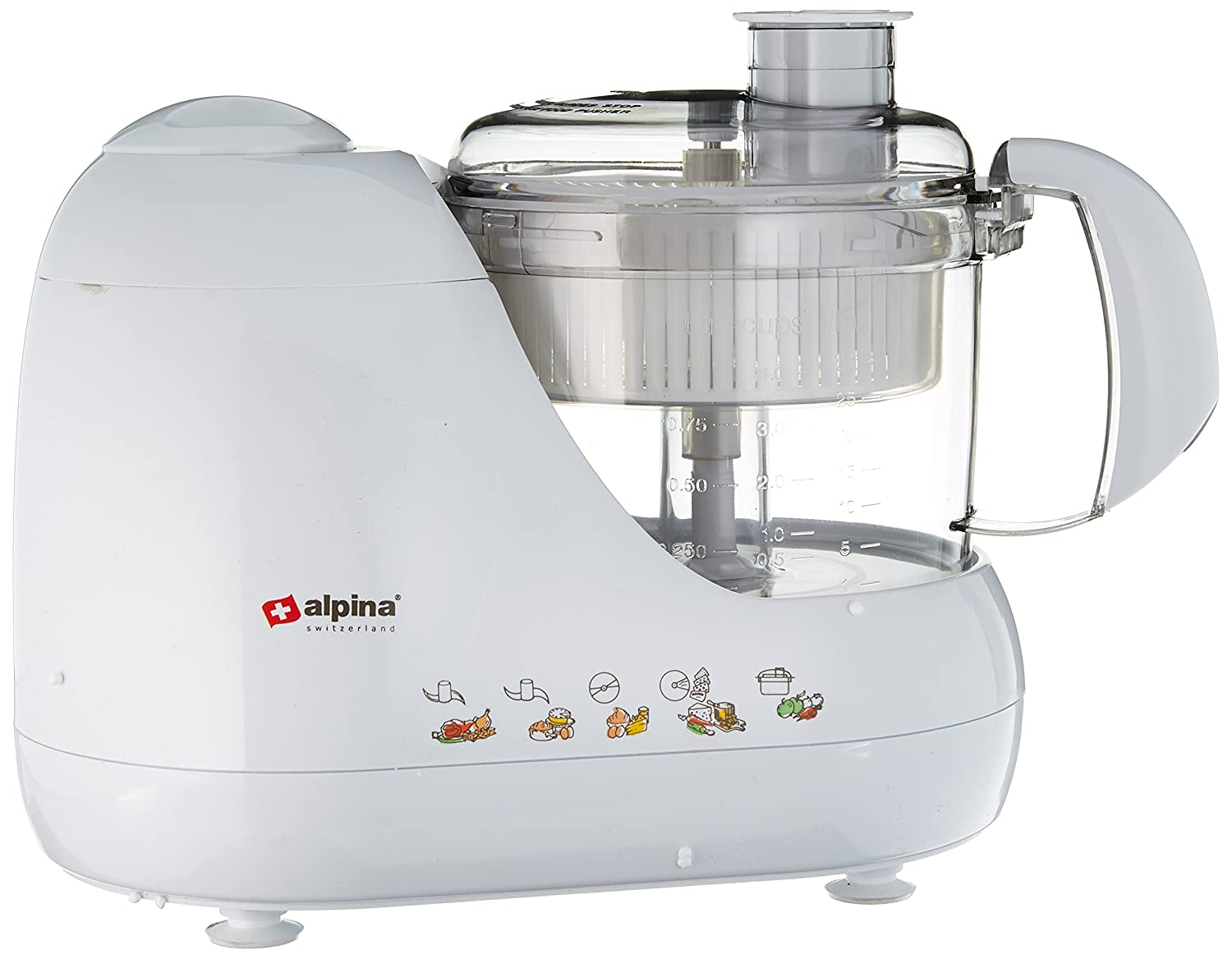 Alpina SF-4010 Kitchen Factory with Food Processor Chopping / Kneading Plus Juice Extractor - 220/240 Volt(Not for USA) by Alpina   B00FEL3IV8