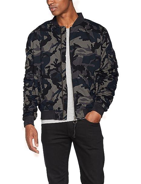 Urban Classics Vintage Camo Cotton Bomber Jacket Chaqueta Hombre