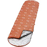 Adventure Medical Kits  - Saco de dormir momia para acampada, color naranja