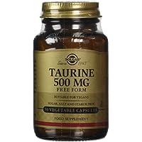 Solgar Taurine 500 mg Vegetable Capsules - Pack of 50