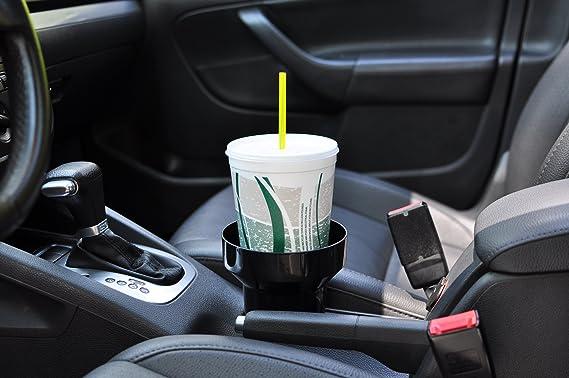 Portavasos para Autos Anchos Montaje de la Copa de ventilaci/ón del Aire del autom/óvil 2 Piezas Portavasos autom/ático Ajustable Gobesty Portavasos para Cars Air Vent Portavasos Auto Universal