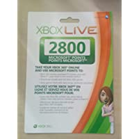 Xbox 360 Live 2800 Points Card Refresh - Standard Edition
