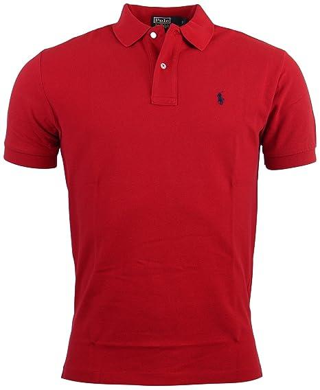 622baa4a Polo Ralph Lauren Men's Classic Fit Mesh Polo Shirt: Amazon.co.uk: Clothing