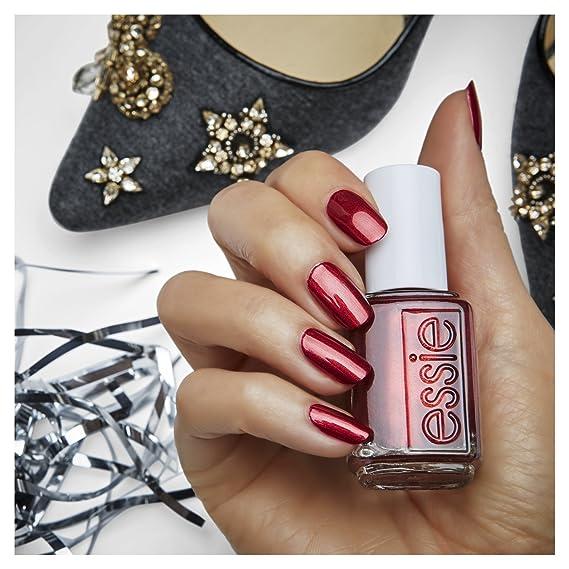 Hermosa Esmalte De Uñas Rojo Essie Embellecimiento - Ideas de Diseño ...