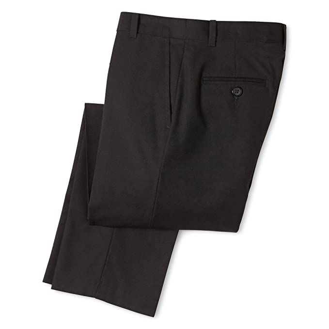 ca850f1394cef Image Unavailable. Image not available for. Color: IZOD Boys Flat Front  Stretch Uniform Dress Pant ...