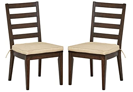 Phenomenal Stone Beam Dunbar Modern Dining Room Set Of 2 Ladderback Side Kitchen Chairs 38 Inch Height Oak Wood Unemploymentrelief Wooden Chair Designs For Living Room Unemploymentrelieforg