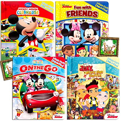 Disney QuotMy Firstquot Look And Find Books Set Kids Toddlers 4