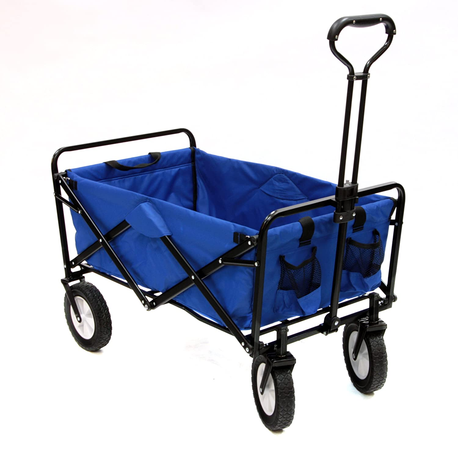 Amazon.com : Mac Sports Collapsible Folding Outdoor Utility Wagon ...
