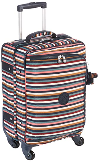 Amazon.com | Kipling CYRAH S Hand Luggage, 55 cm, 37.5 liters, Multicolour (Multi Stripes) | Carry-Ons
