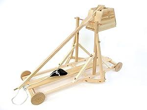 Pathfinders Medieval Trebuchet Wooden Kit