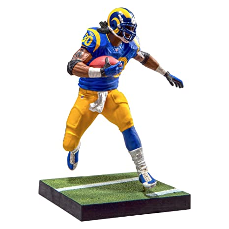 47e6c302f Image Unavailable. Image not available for. Color  McFarlane Toys EA Sports  Madden NFL 17 Ultimate Team Todd Gurley Los Angeles Rams ...