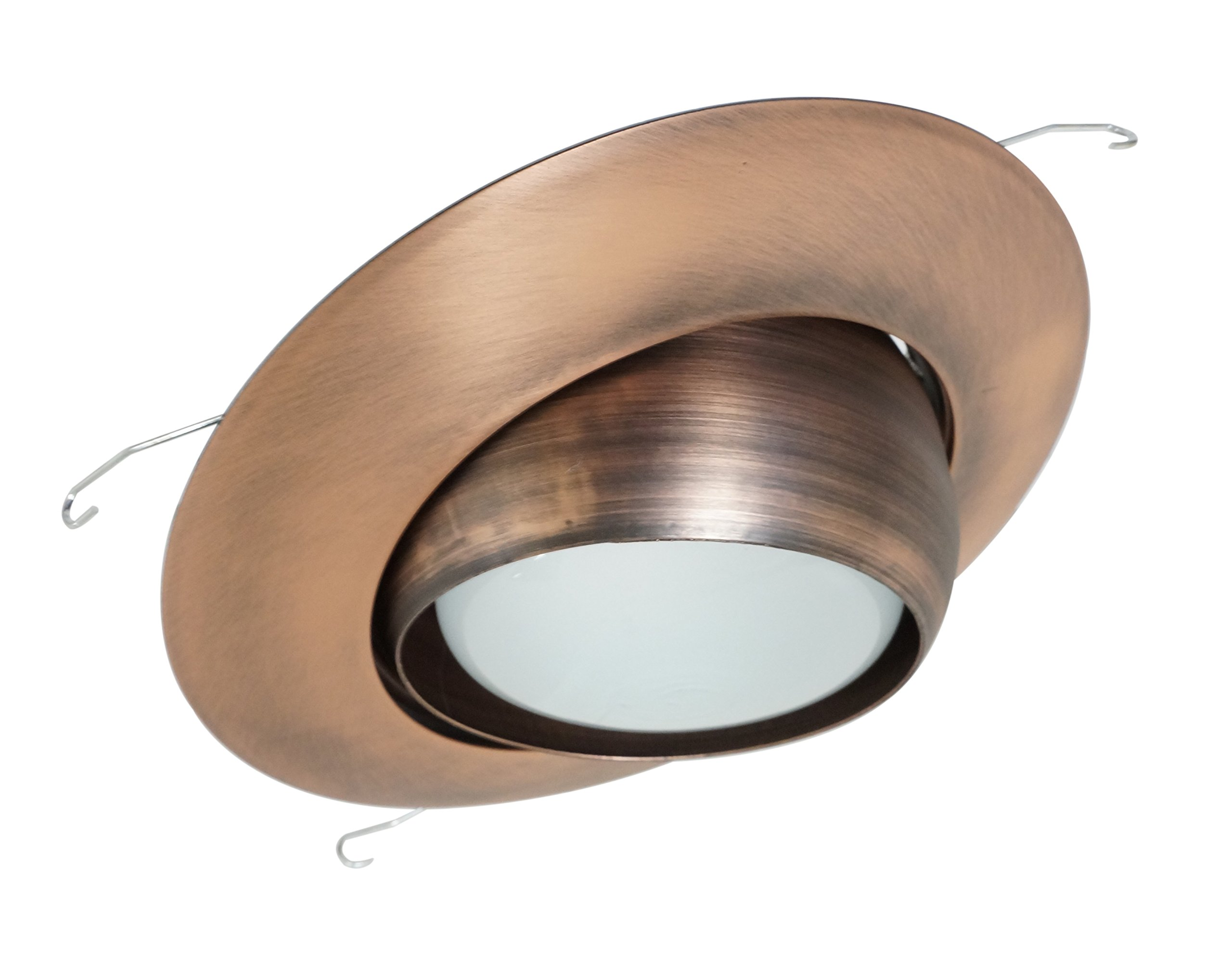 NICOR Lighting 6-Inch Eyeball Lighting Trim, Bronze (17506BZ)