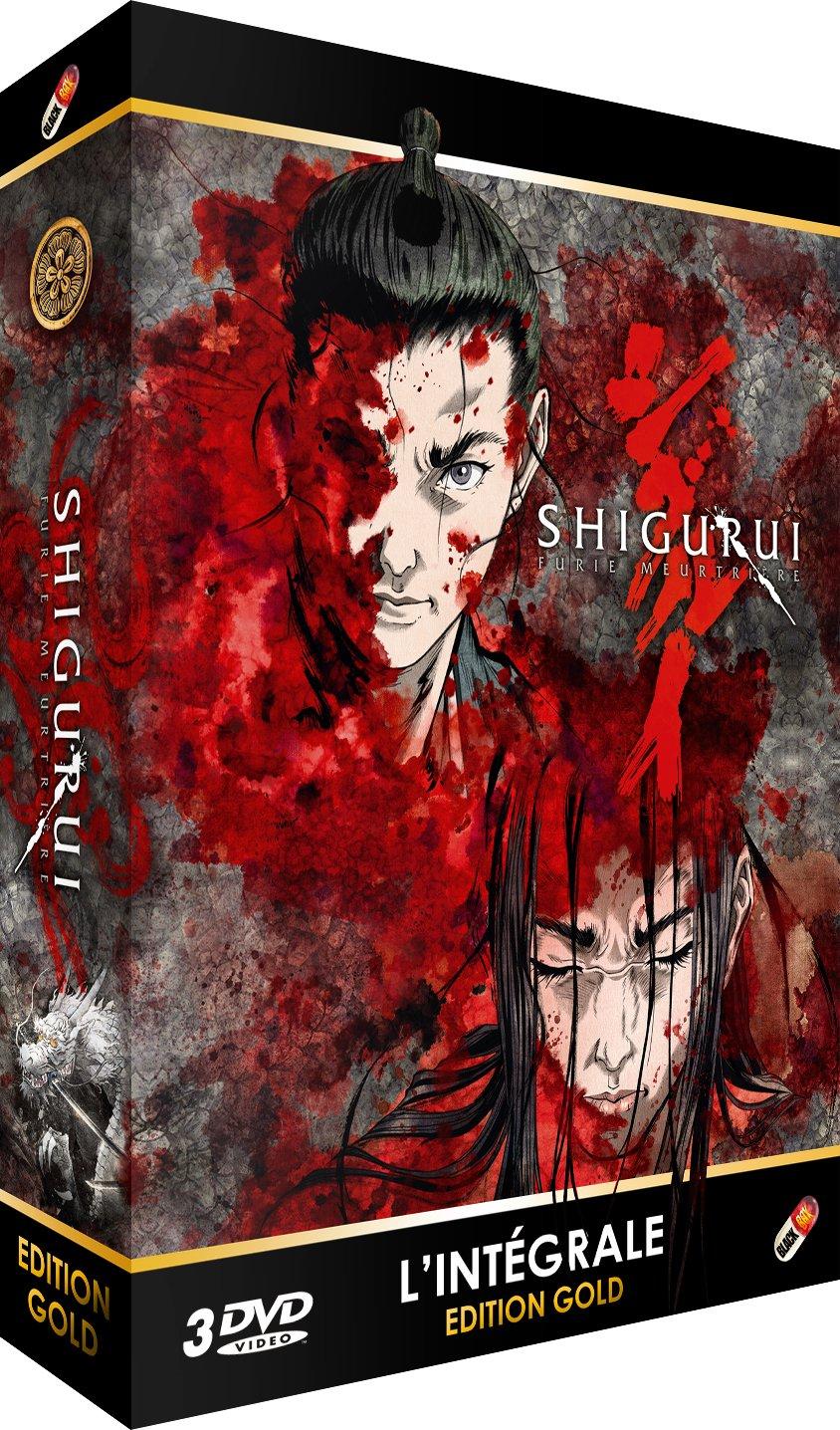 Shigurui : Furie meurtrière - Intégrale non censurée ...