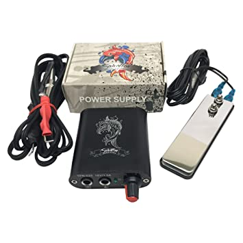 51fa7ef40eb8b Salvation - Mini Tattoo Power Supply - Premium Quality - Tattooing  Equipment Kit Contains Source Box