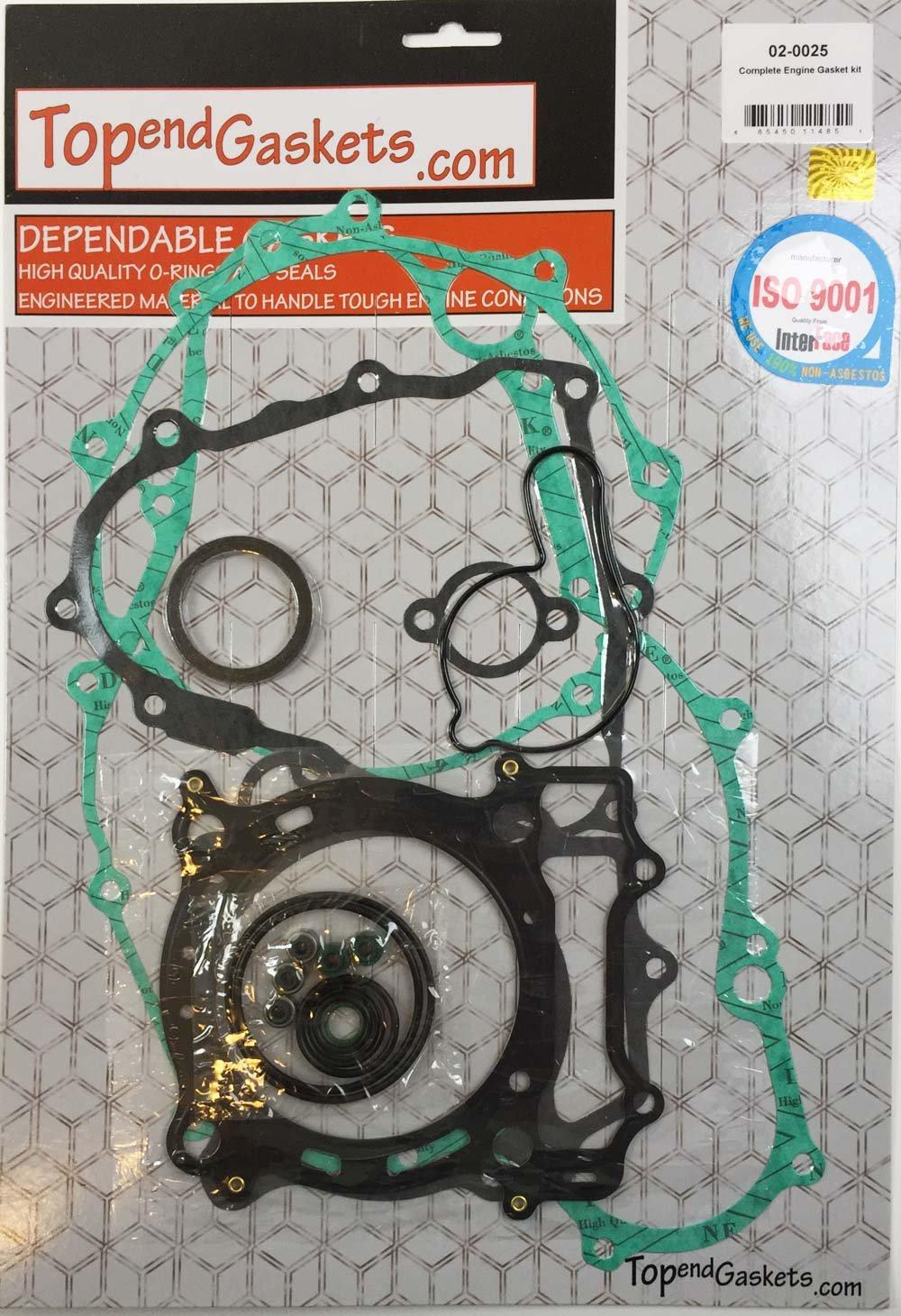 Complete Engine Gasket Kit Set Yamaha YFZ 450 2004 2005 2006 2007 2008 2009 2010