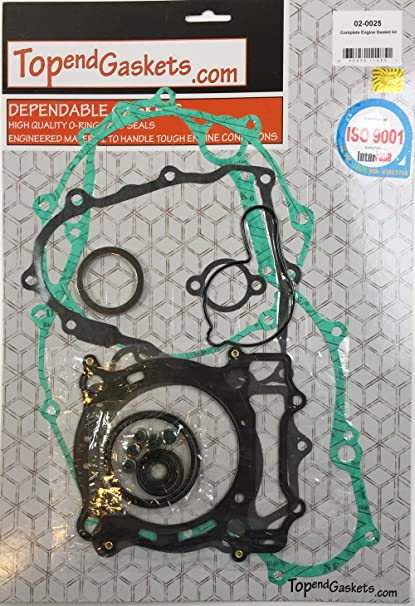 Amazon com: Complete Engine Gasket Kit Set Yamaha YFZ 450