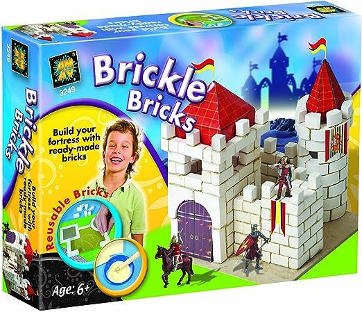 Diamant Brickle Bricks - Juego de construcción de Castillo: Amazon.es: Juguetes y juegos