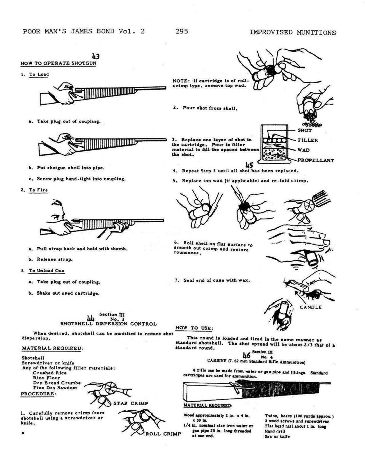 TM 31-210 Improvised Munitions Handbook (Poor Man's James Bond Volume II)  [Quality, Loose Leaf Facsimile]: Kurt Saxon, Department of the Army  Headquarters: ...