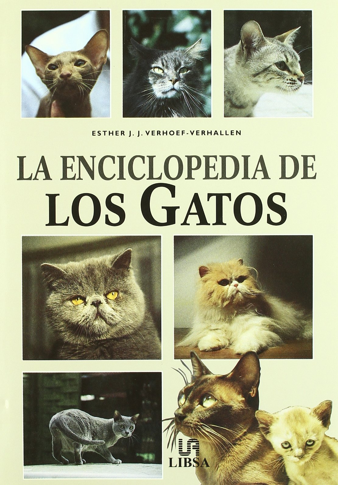 La Enciclopedia de Los Gatos (Spanish Edition) (Spanish) Hardcover – July, 2000