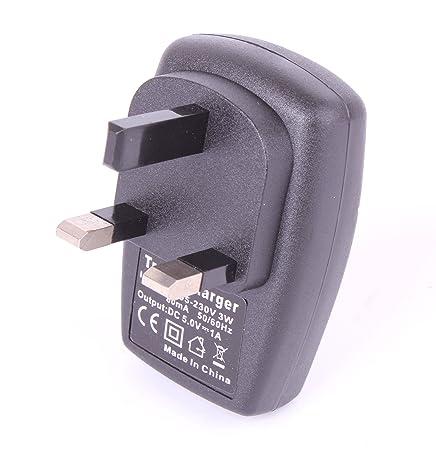 DURAGADGET Enchufe Inglés con Puerto USB para Tablet ...