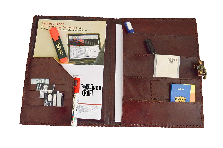 Stylish leather padfolio