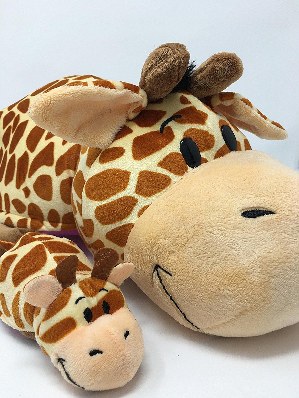 FlipaZoo Momma /& Baby Giraffe//Hippo Perfect Gift Set w To//From mini Card /& Env Bundle