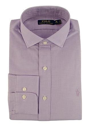 f84762eb Polo Ralph Lauren Men's Classic-Fit Herringbone Twill Dress Shirt at Amazon  Men's Clothing store: