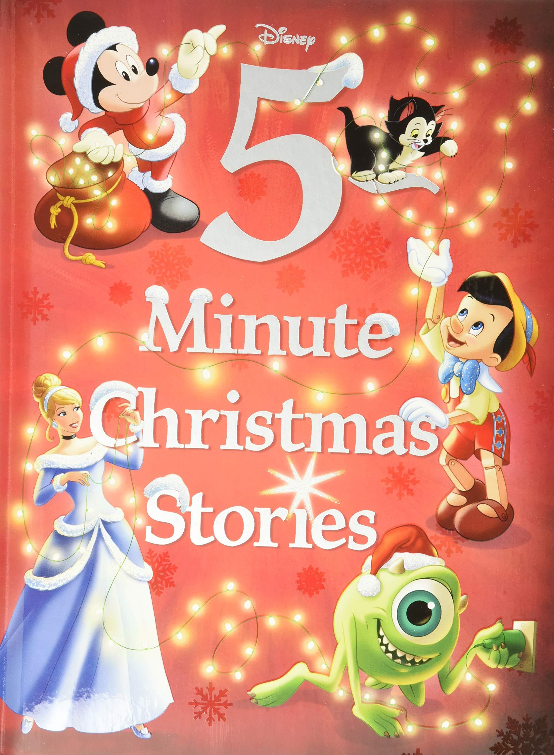 Disney 5 Minute Christmas Stories 5 Minute Stories Disney Books Disney Storybook Art Team 9781484727416 Books