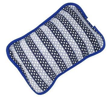 MovilCom® Bolsa de Agua Caliente Eléctrica | Recargable en sólo 15 minutos | Calentamanos | Dolor muscular, espalda, menstrual 600Watt (Mod.08)