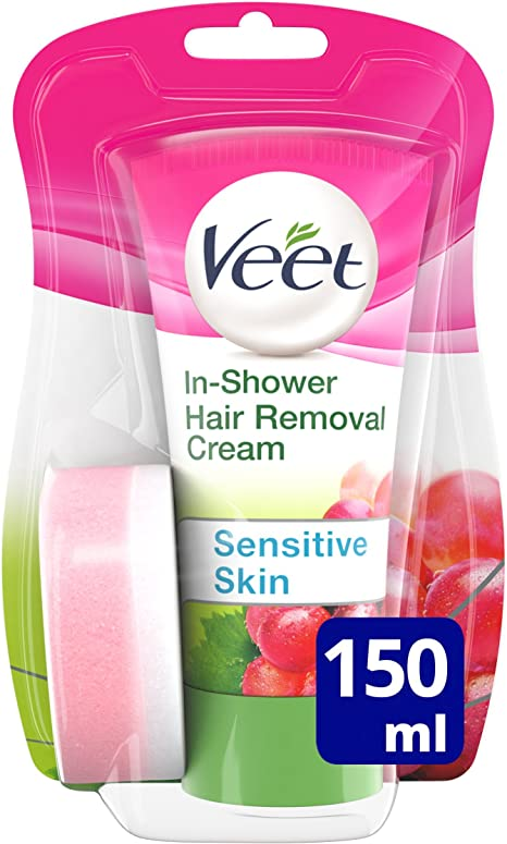 Veet Natural Inspirations In Shower Hair Removal Cream 150 Ml