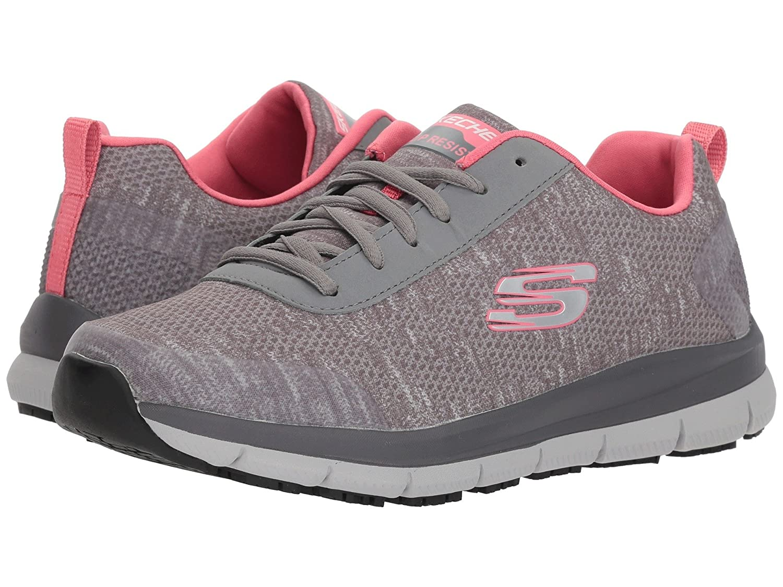 (スケッチャーズ) SKECHERS レディースワークシューズナースシューズ靴 Comfort Flex SR HC [並行輸入品] B07FS86FV9 8.5 (25.5cm) B Medium|ブラック/ホワイト ブラック/ホワイト 8.5 (25.5cm) B Medium