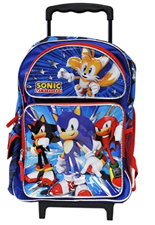 Amazon.com: Full Size Blue and Red Sonic the Hedgehog Team Rolling ...