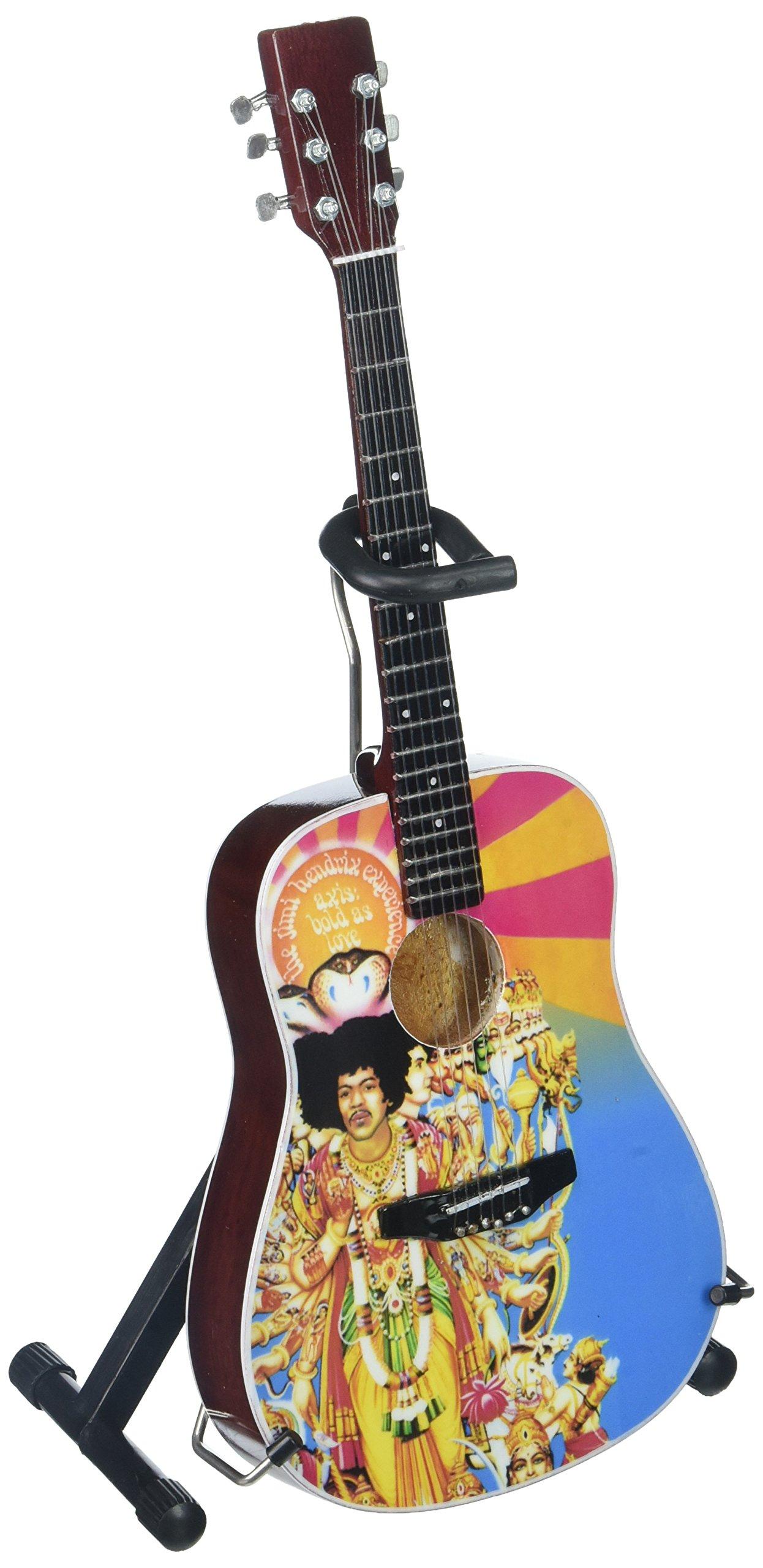 Axe Heaven JH-803 Jimi Hendrix Axis Bold As Love Acoustic Mini Guitar Replica