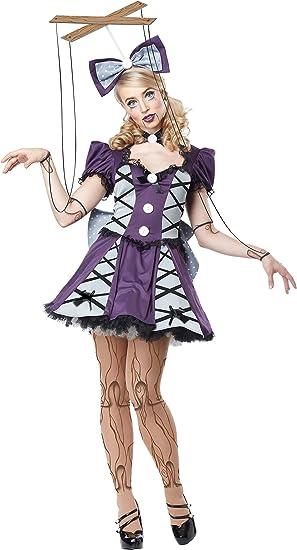 California Costumes Disfraz de muñeca títere Mujer: Amazon.es ...