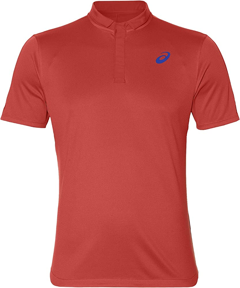 ASICS Polo Club Polo-Shirt Rojo: Amazon.es: Deportes y aire libre