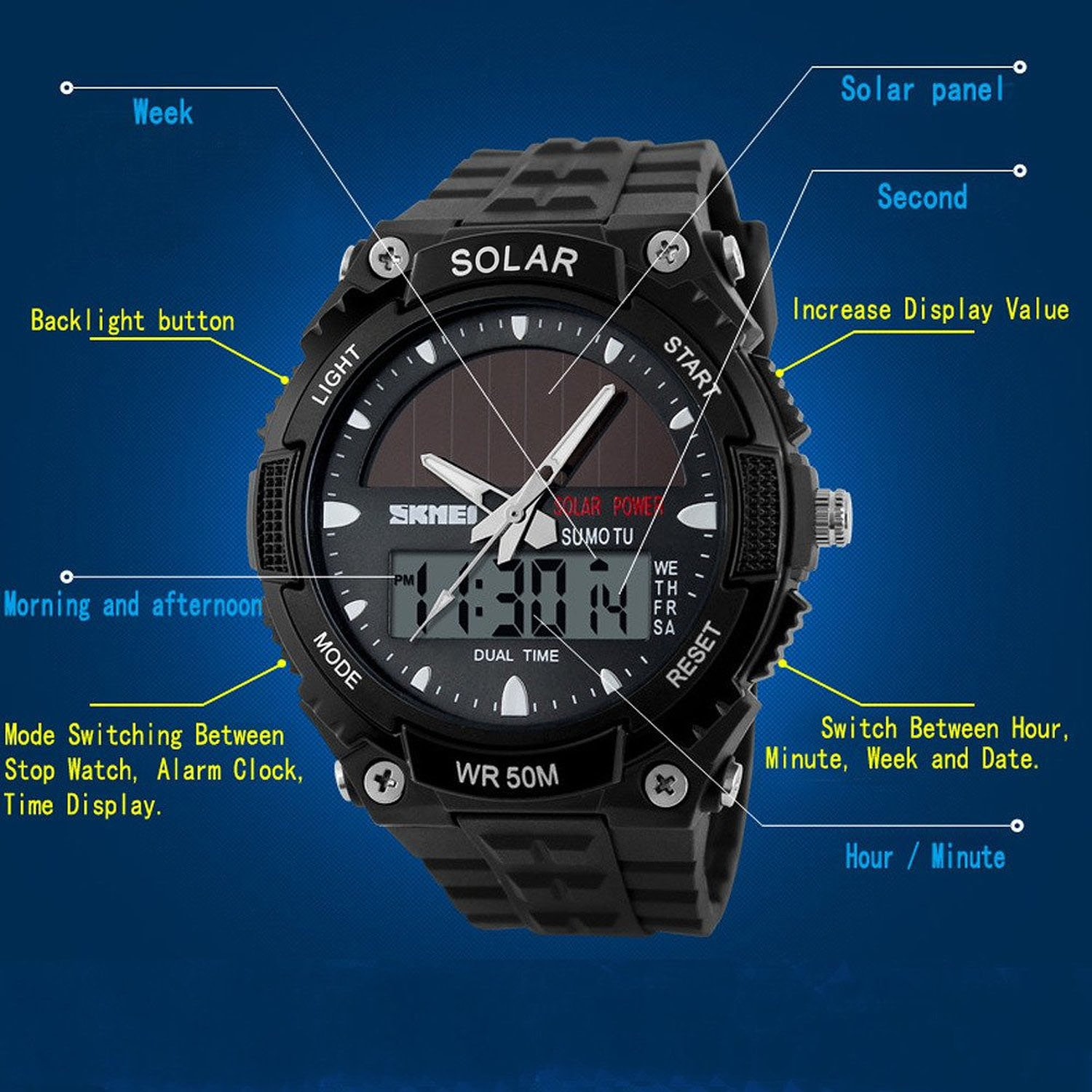 product watches w seiko solar chronograph s watch bright recraft power date men mens