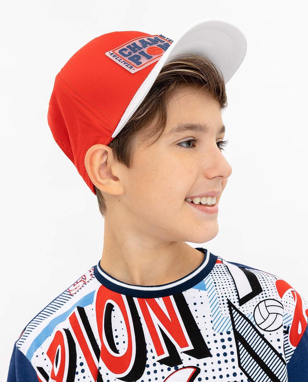 GULLIVER Berretto da Baseball Bambino Capellino con Visiera Bianco Ragazzi di Cotone